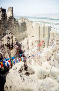 the ruins of the Shigaste fort
