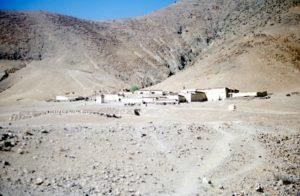 Tibetan mountain village: the Middle Ages