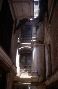 temple window in Kathmandu