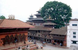 several temples in Kathmandu