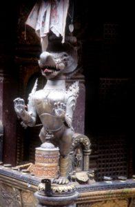 a rare metal sculpture