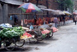 the meat market, outside