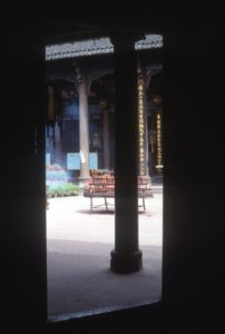 the Qingyang Gong temple, a Taoist temple