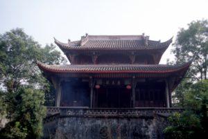 Qingyang Gong temple in Chengdu