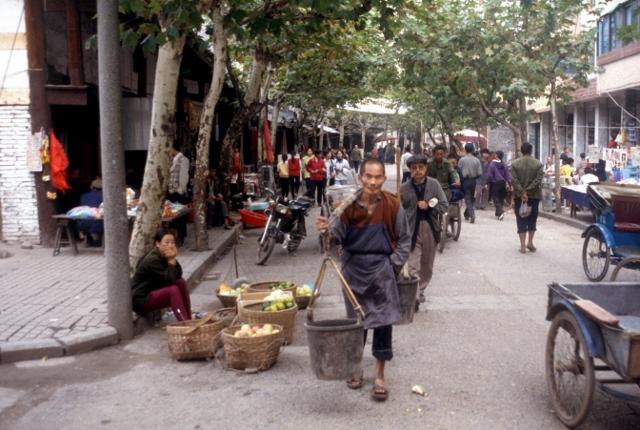 a street in Dazu