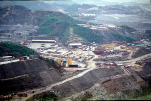 working site at the Three Gorges Dam