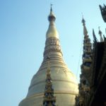 the Shwedagon Paya in Yangon
