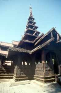 Bagaya Kyaung, the wooden monastery
