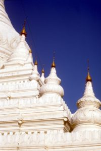 detail of the Ava pagoda
