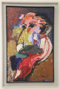 """characteristic Karel Appel: """"Head"""", in Museum De Fundatie"""