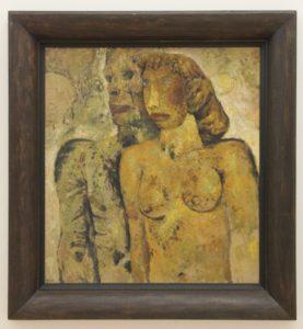"""Belgian Frits van den Berge's """"Two Figures"""""""