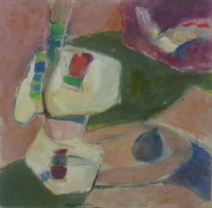"""lovely abstract """"La Figure Flear"""" by Maria Manton"""