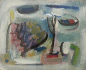 """depiction of """"Polder"""" by Dutch painter Eugene Brands"""