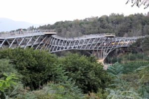 the Tabiat Bridge by daylight