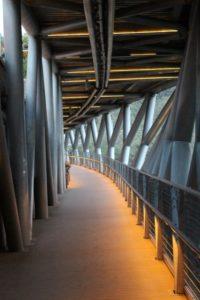 different levels on the bridge