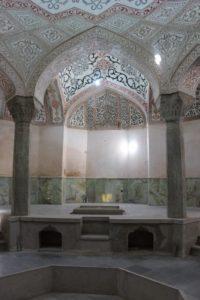 the main bathing room