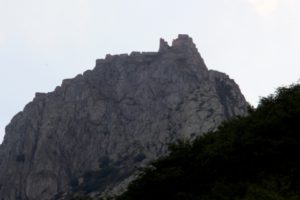 Babak Castle, a good two hour's walk uphill (for which we, unfortunately, had not enough time)