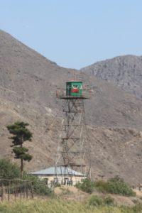 another Azerbajiani guard tower
