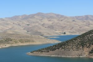 this was the only water we saw in between Tabriz and Sanadaj...