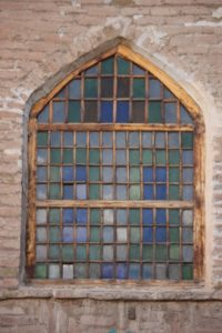 one of the mosque windows