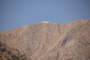 a distant Iranian border defence, high up in the mountains