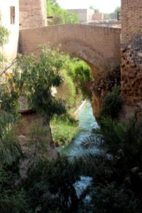 the Pol-e Mostofi, a cute little old bridge in Shushtar