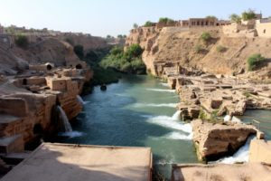 the Shushtar water systems