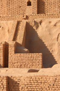 intricate brick works