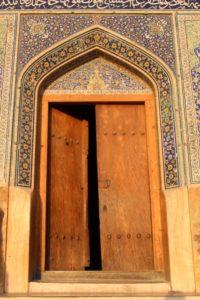 entry to the Mashed-e Sheikh Lotfallah