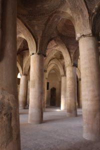 Seljuk vaulting in Esfehan's Mashed-e Jahmed