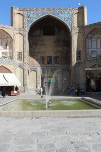 the Qeysarieh Gate, entrance to the bazaar