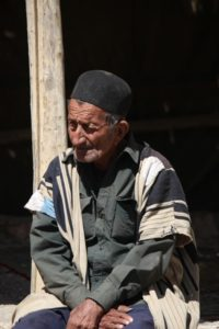 one of the Bakhtiari men in the camp
