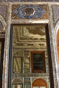 all mirrors in the Narenjestan