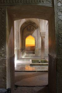 the hamman section of the Arg-e Karim Kahn