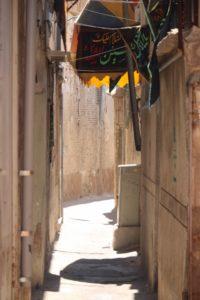 small alley in Shiraz