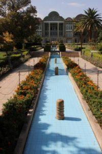 Qavam House in the botanical garden Bagh-e Eram