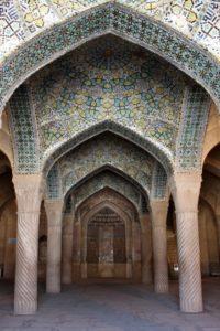 inside the Masjed-e Vakil