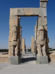 Xerxes' gate in Persepolis