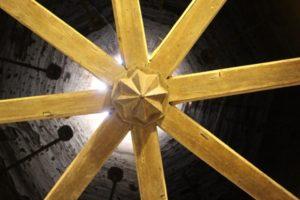 looking up through the badgir