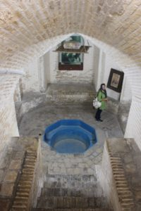 a water reservoir in the Water Museum