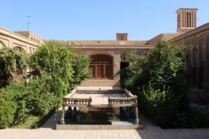 courtyard of the Khan-e Lari mansion