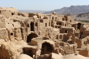 Kharanaq, the collapsed mud village
