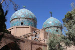 the Qajar-era mausoleum for a Sufi mystic, Moshtag Ali Shah