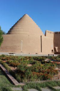 the Yakhchal Moayedi, a Safavid-era ice storage