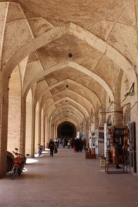 the covered bazaar of Kerman