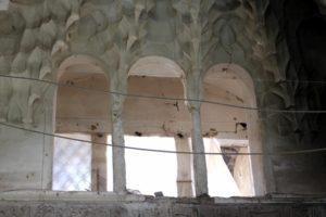 windows and stuc work in the bazaar