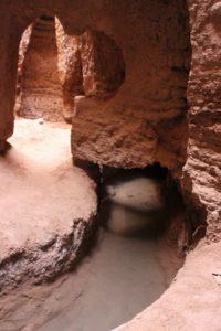 the underground qanat of Shafi Abbad