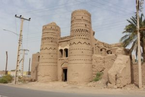 the Qale Shahid, in the village of the same name