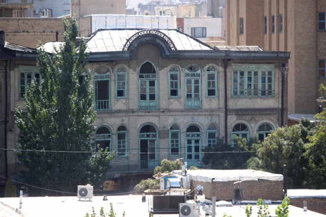 one of the few old houses in Hamadan