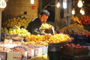 fruit and vegetable seller